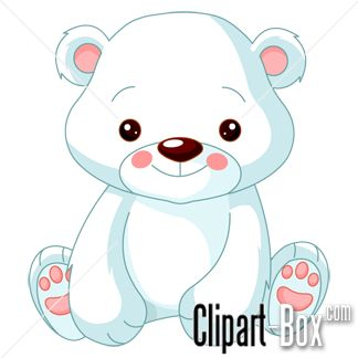 Drawn polar  bear adorable baby Best on ♥ Search 283