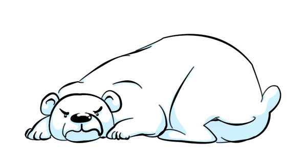 Drawn polar  bear angry Sadistmoi by Polar Bear DeviantArt