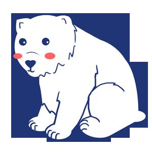Drawn polar  bear chibi IcyPanther1 Bear DeviantArt by Polar