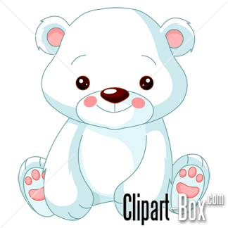 Drawn polar  bear clipart Drawing drawing baby polar polar