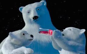 Drawn polar  bear coca cola #15