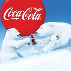 Drawn polar  bear coca cola #14