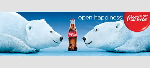 Drawn polar  bear coca cola #7