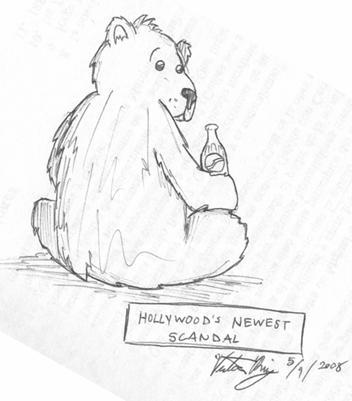 Drawn polar  bear coca cola #9