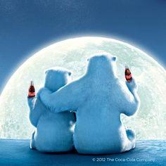 Drawn polar  bear coca cola #4