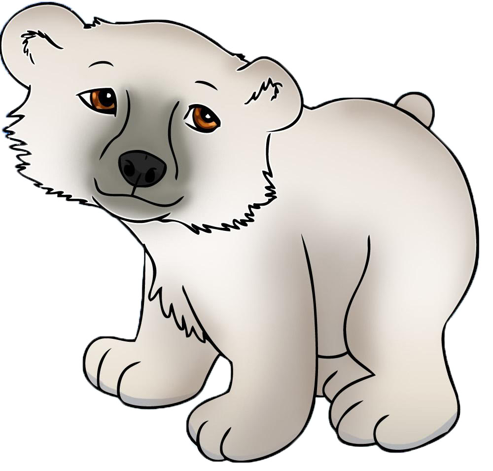 Drawn polar  bear cute cartoon Photo#28 bear cartoon Cute Cartoon