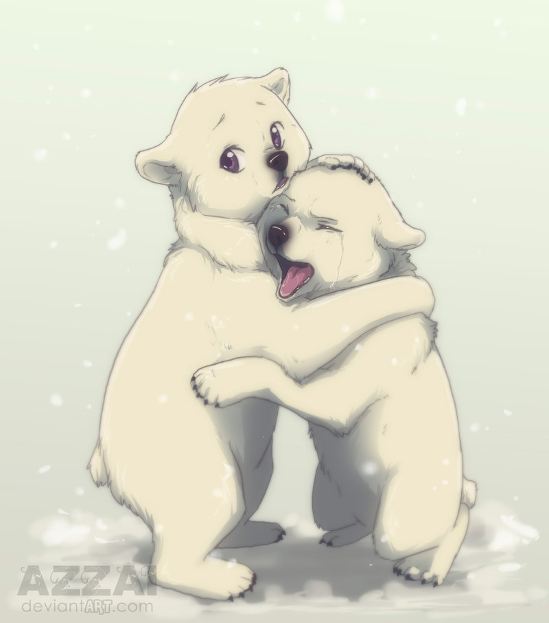 Drawn polar  bear deviantart Too cute  Bear Polar