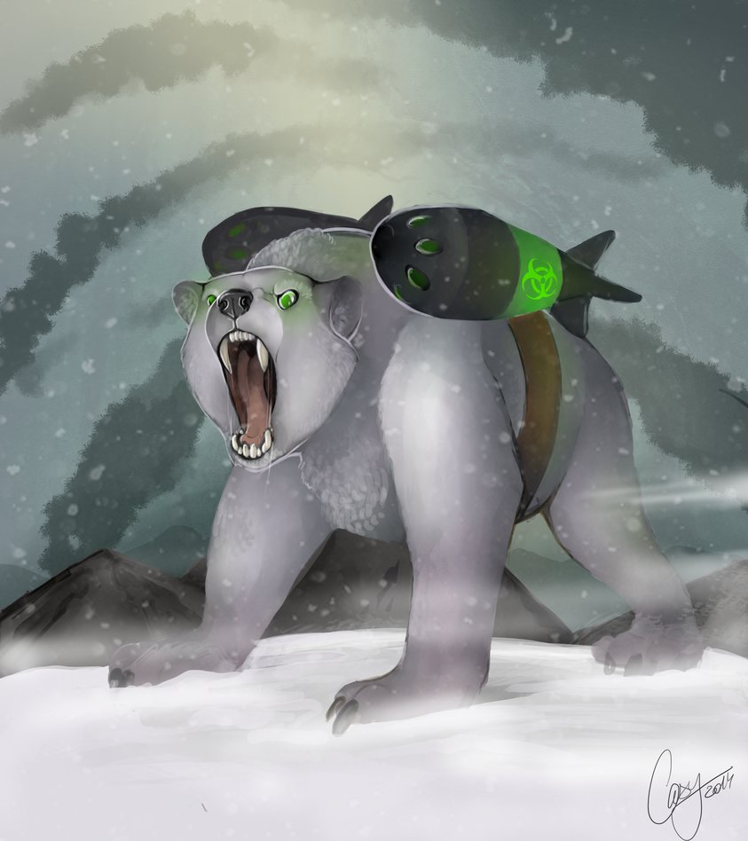 Drawn polar  bear deviantart CasyNuf by DeviantArt on Bear
