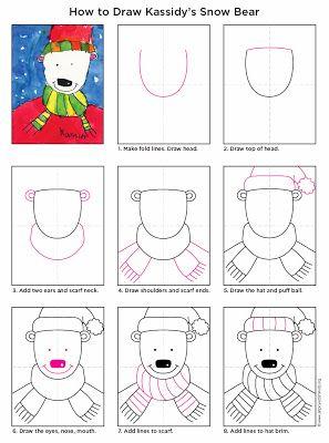 Drawn polar  bear educational To Barbro Projects Bloglovin' school