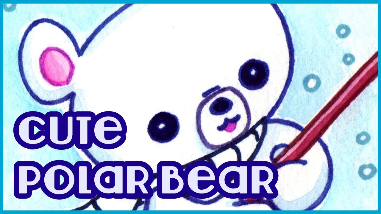Drawn polar  bear fun2draw Polar Kawaii How to Draw