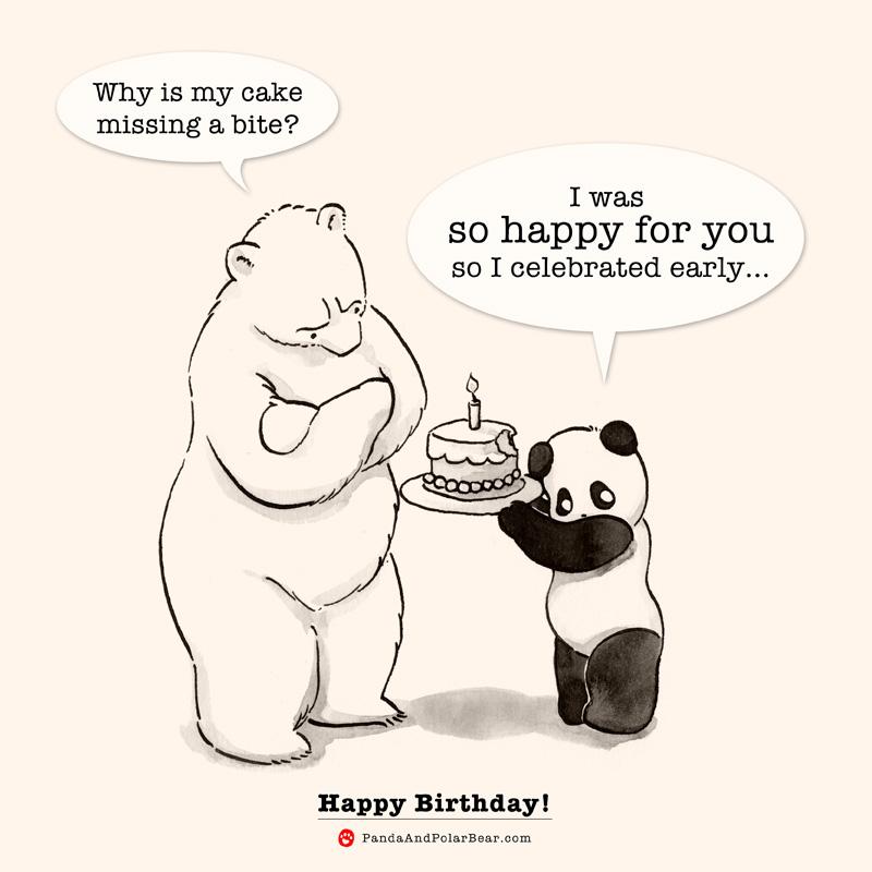 Drawn polar  bear happy bear What done Happy has Bears!