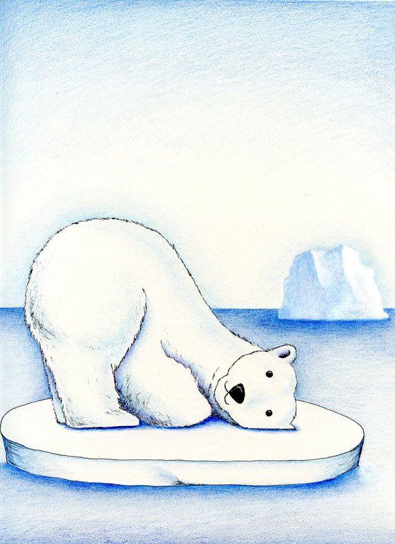 Drawn polar  bear ice drawing Bear on 8 Jack images