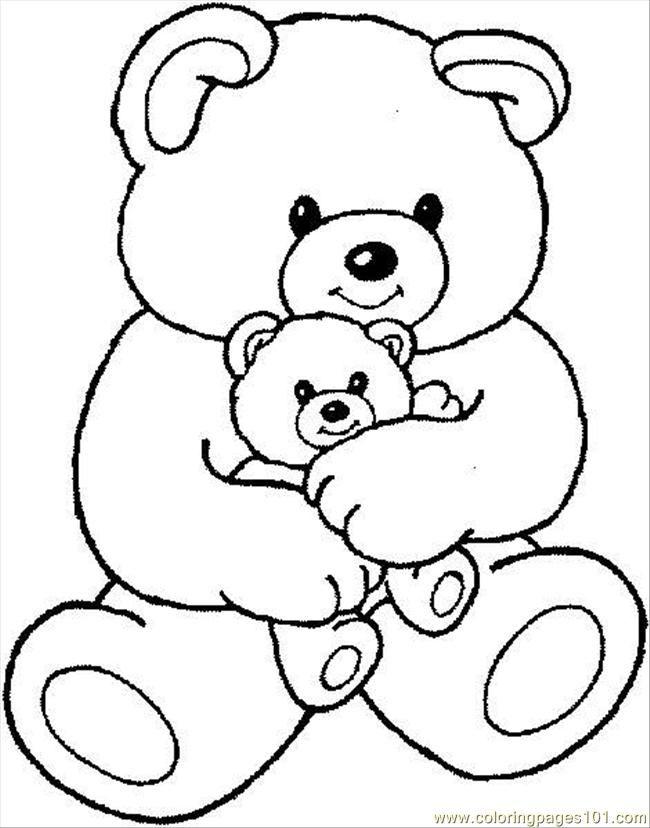 Drawn polar  bear little bear 4764 teddybear1 cartoons Page free