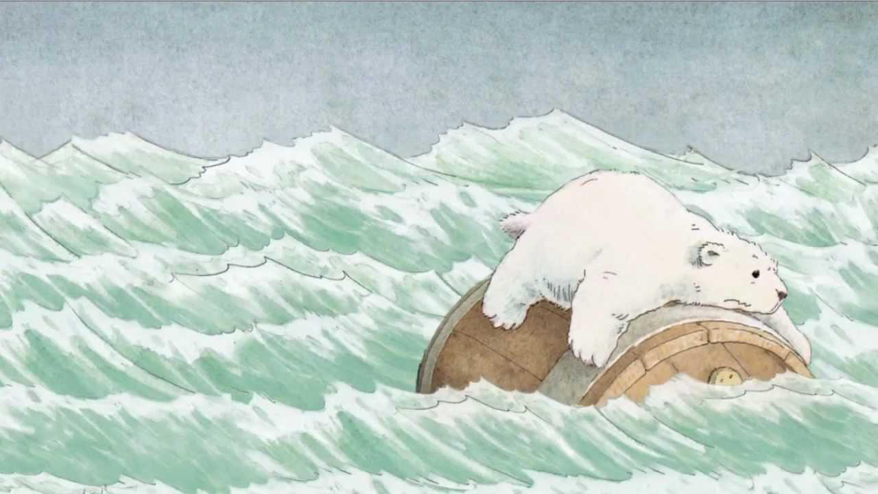 Drawn polar  bear little bear Little de Beer Hans Polar