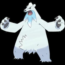 Drawn polar  bear pokemon Bulbapedia Beartic the (Pokémon) community