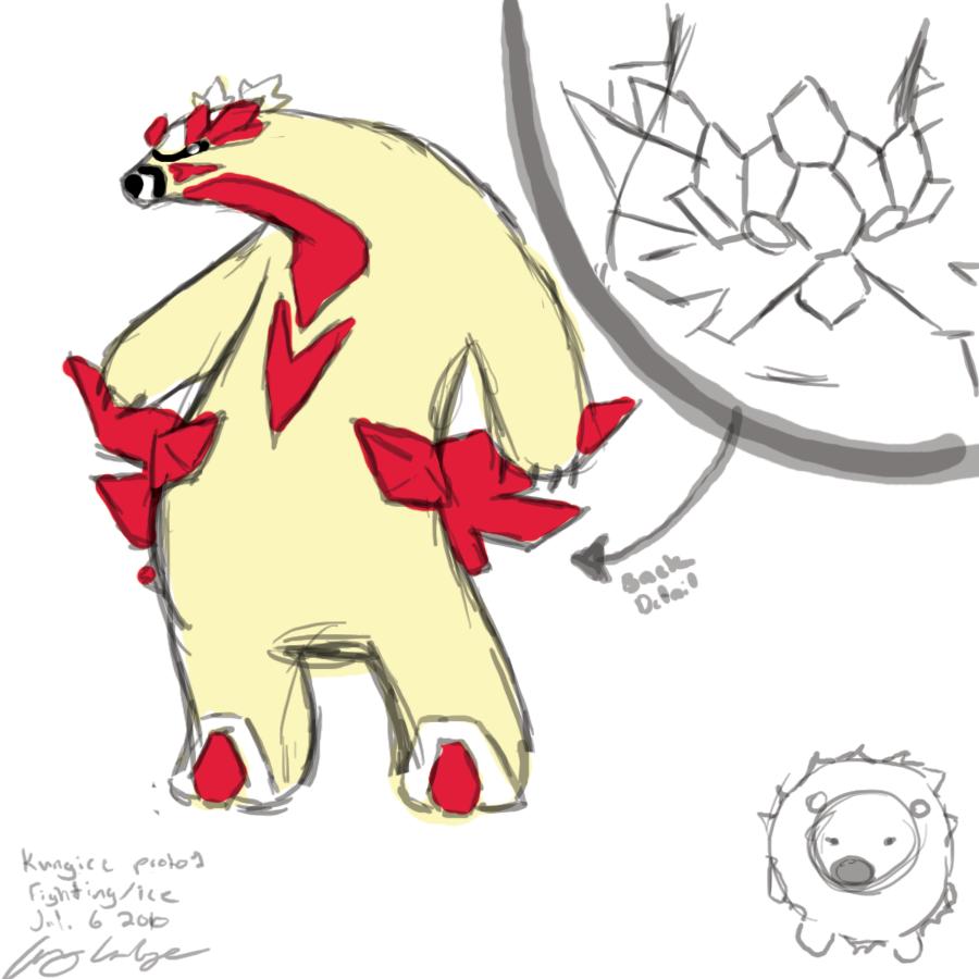 Drawn polar  bear pokemon Polar Bear  by Bear