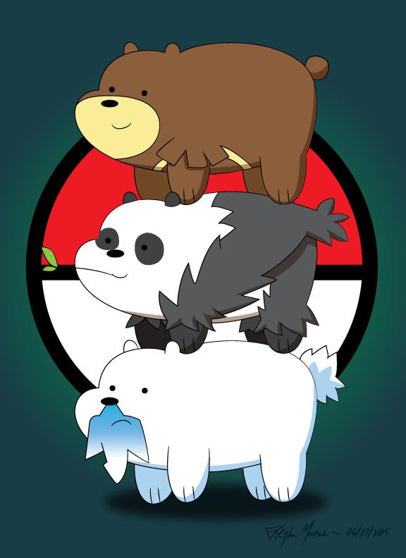 Drawn polar  bear pokemon By Albels We wish Albels