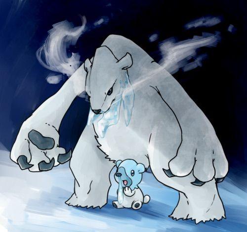 Drawn polar  bear pokemon Have Pokémon polar to They