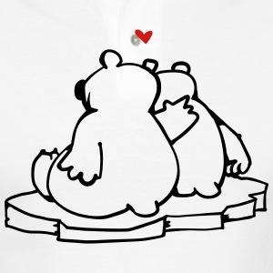 Drawn polar  bear polo #5
