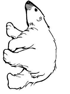 Drawn polar  bear polo #7
