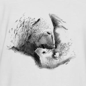 Drawn polar  bear polo #12