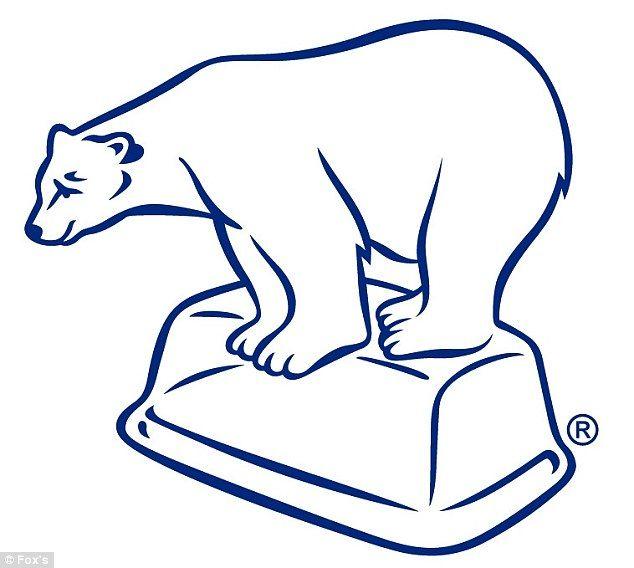 Drawn polar  bear polo #8