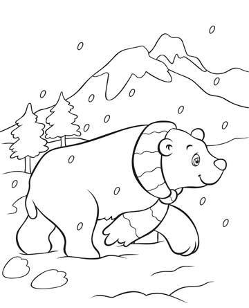 Drawn polar  bear printable Bear best heart free this