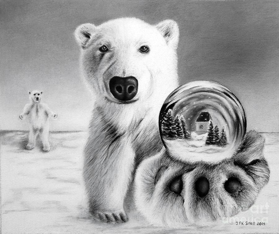 Drawn polar  bear snow bear Polar John Globe Snow John