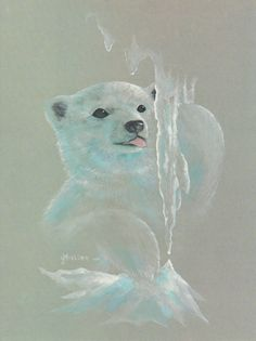 Drawn polar  bear tiny Cub Bear Polar Sketch