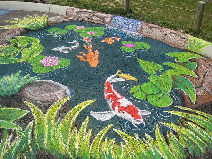 Drawn pond fish pond Fish Fish photo#7 pond Drawing