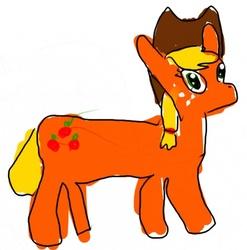 Drawn pony Badly artist:zestyoranges drawn My ponies
