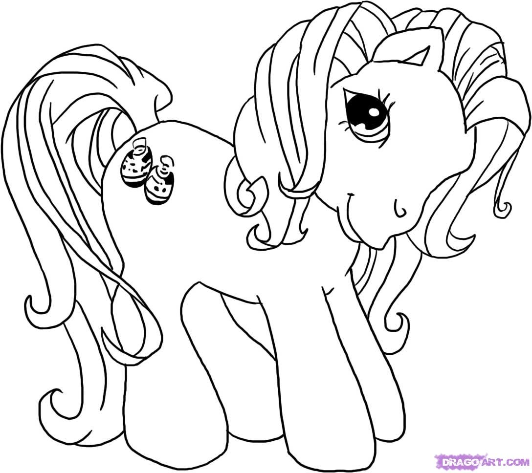 Drawn my little pony Little Draw to Pony step