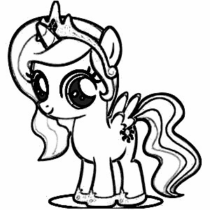 Drawn pony coloring book Pictures coloring søk Google princess