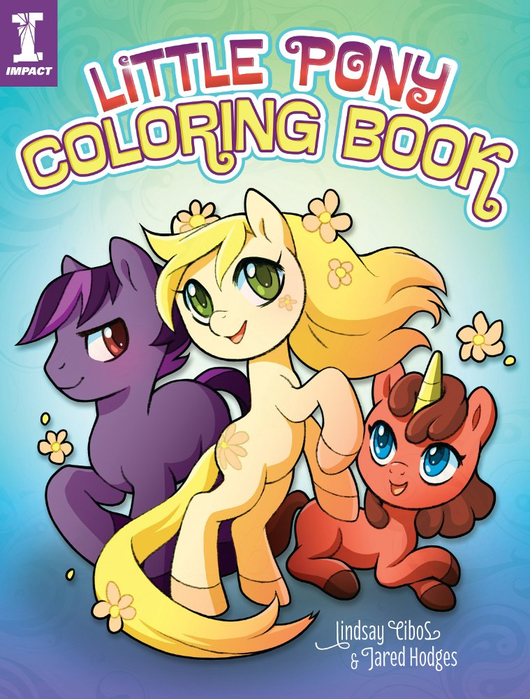 Drawn pony coloring book & Little Books Book Amazon