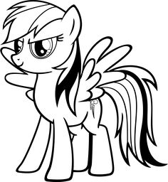 Drawn pony for kid 2017 Love Cute Baby Pages