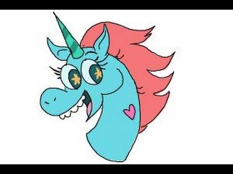 Drawn pony pony head Forces Evil How How draw