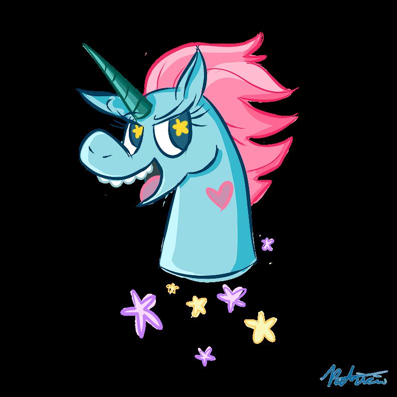 Drawn pony pony head Bloknbeanbagg com Star on Star