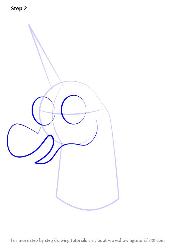 Drawn pony pony head Star the Step Forces Evil