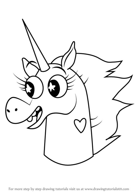 Drawn pony pony head Forces Evil How  Learn