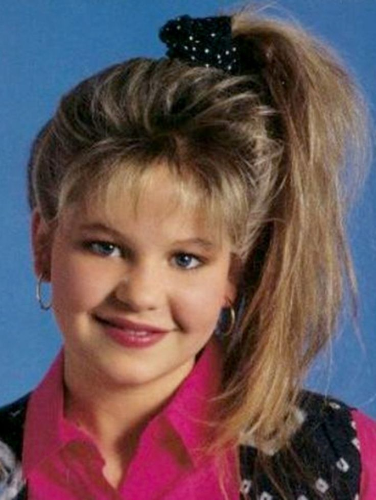 Drawn ponytail 80's Hairstyles #Hairstyles Bring to Time