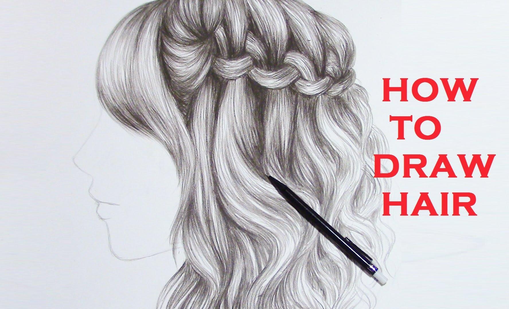 Drawn braid braided hair Hair YouTube Hair Braid Braid