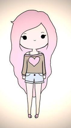 Drawn cute cute person #3