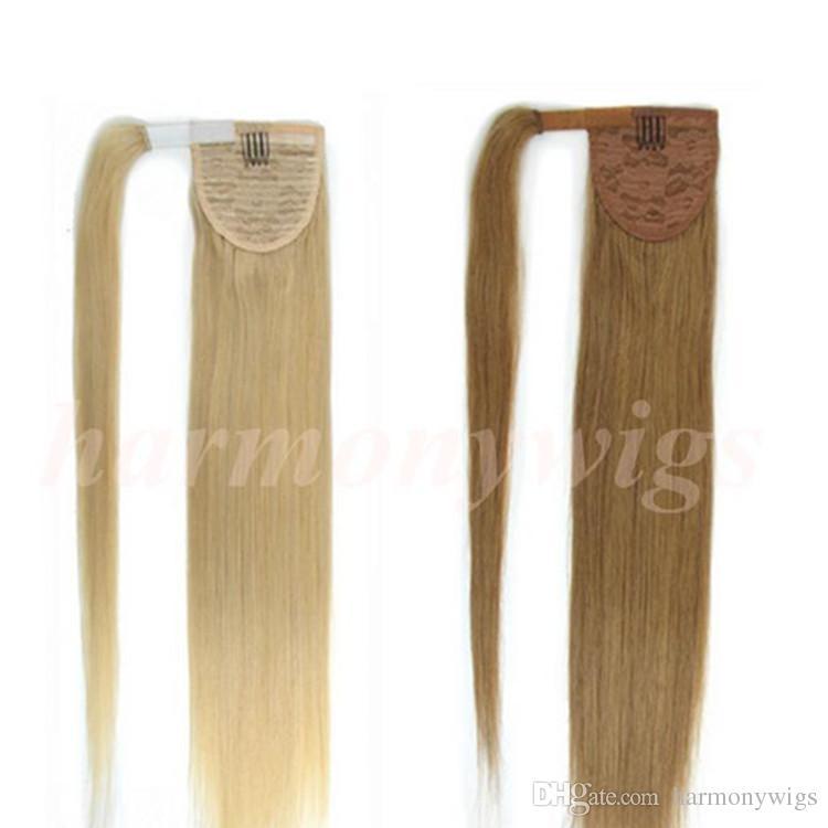 Drawn ponytail fashion Ponytail Brown 100g 20 Quality
