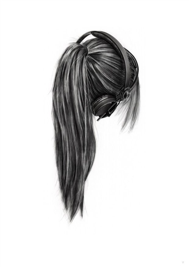 Drawn profile headphone Images on Pinterest 34 with