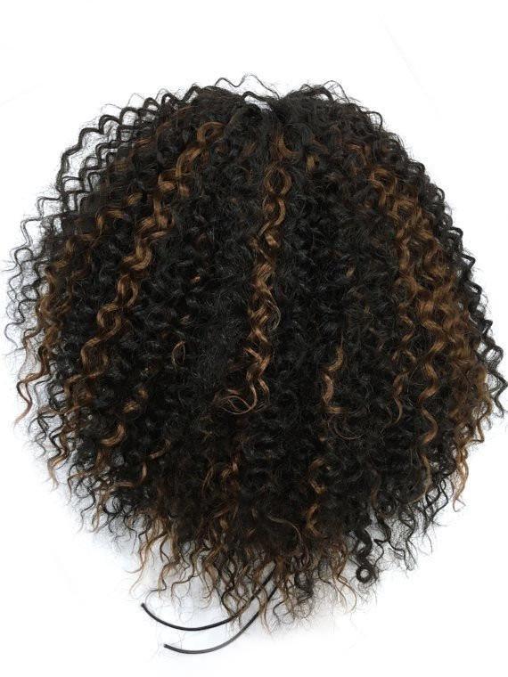 Drawn ponytail human hair 100% Kinky Hairesthetic Draw hair