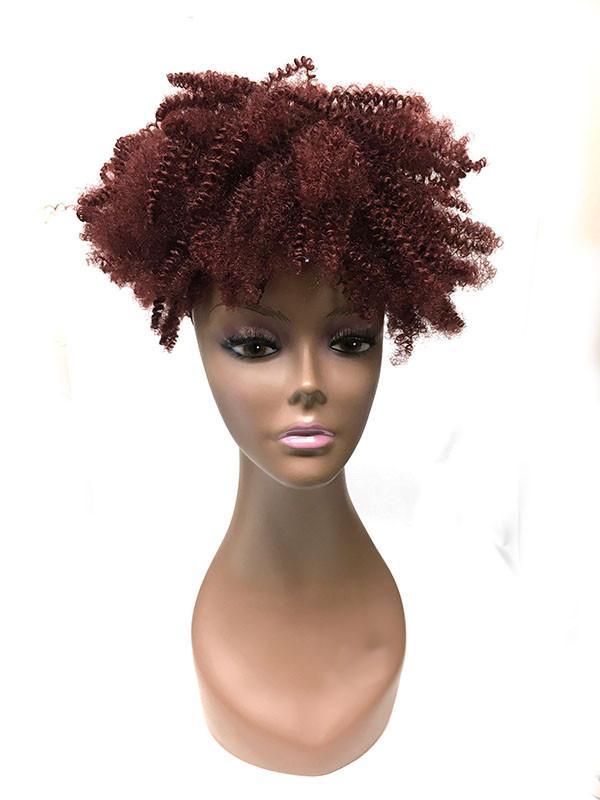 Drawn ponytail human hair Tight Ponytail hair  hair
