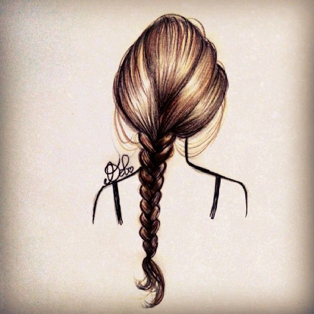 Drawn braid art hair Com 25+ by Pinterest Braid