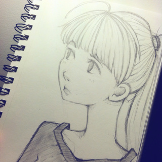 Drawn ponytail pretty person Happen PaigeeWorld Good doodle Good