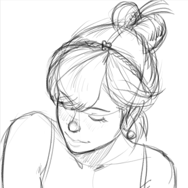 Drawn ponytail tumblr music And music is my CT