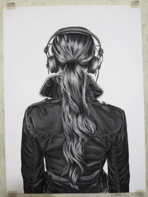 Drawn ponytail tumblr music Cross this To Hope Die